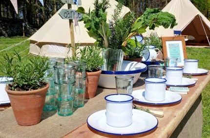 Enamelware And Vintage Props