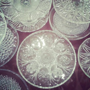 glass cake stands 2