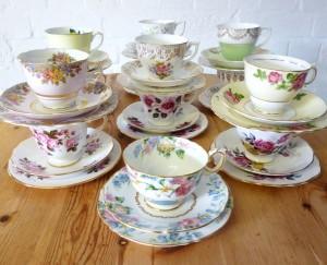 tea cup stack